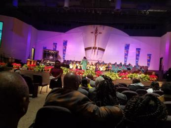 Cornerstone church service